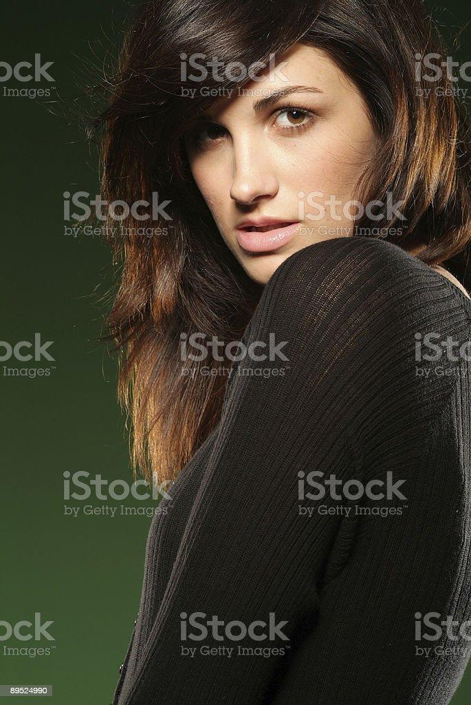 Beauty/Fashion Shot royalty-free stock photo
