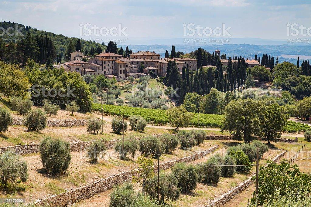 Beautyful Italian town stock photo