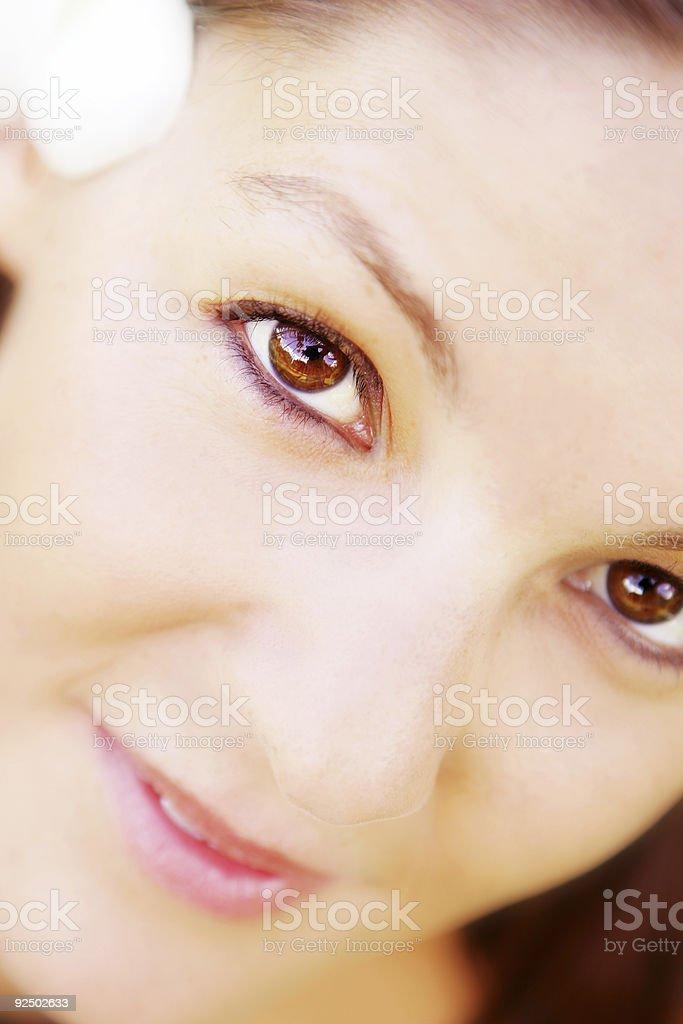 Beauty's Face royalty-free stock photo