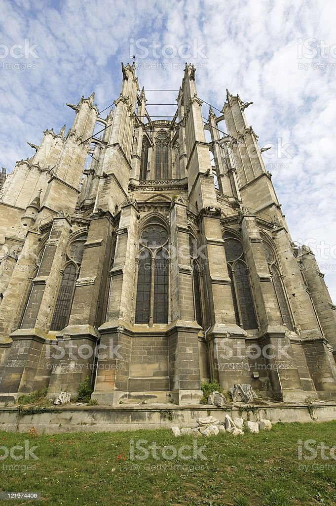 Beauvais (Picardie) - Cathedral royalty-free stock photo