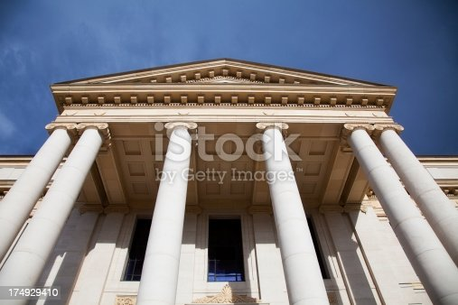 istock Beaux Arts/Neo-Classical Columns 174929410