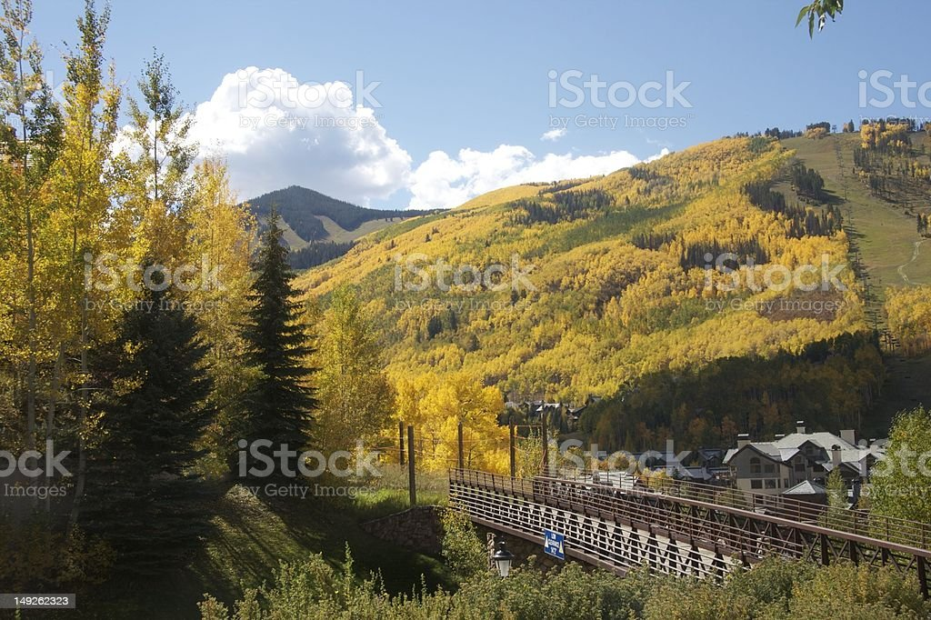 Beaver Creek Colorado stock photo