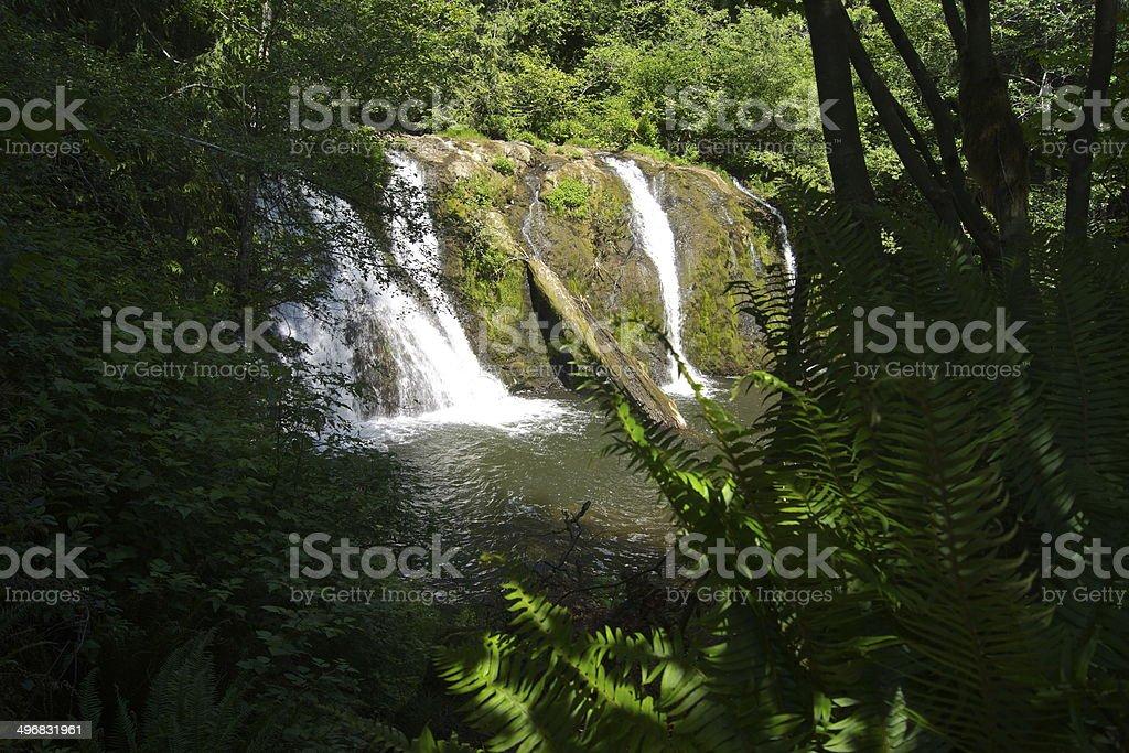 Beaver Creek Falls stock photo