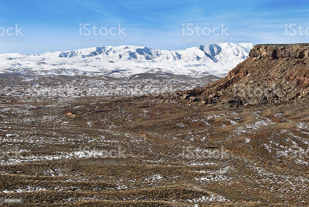 Beaver Dam Mountains-Utah royalty-free stock photo
