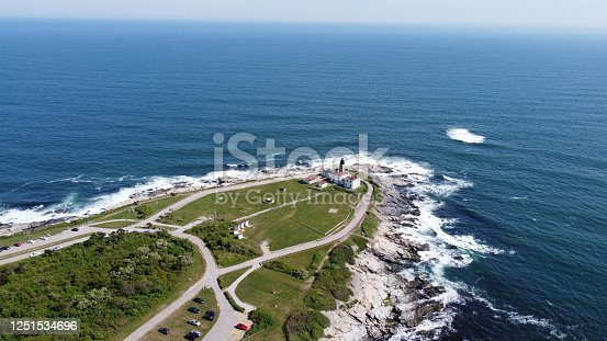 1130689824 istock photo Beaver Tail point Lighthouse in Rhode Island 1251534696