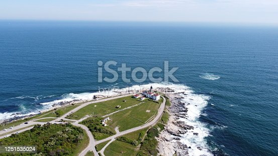 1130689824 istock photo Beaver Tail point Lighthouse in Rhode Island 1251535024