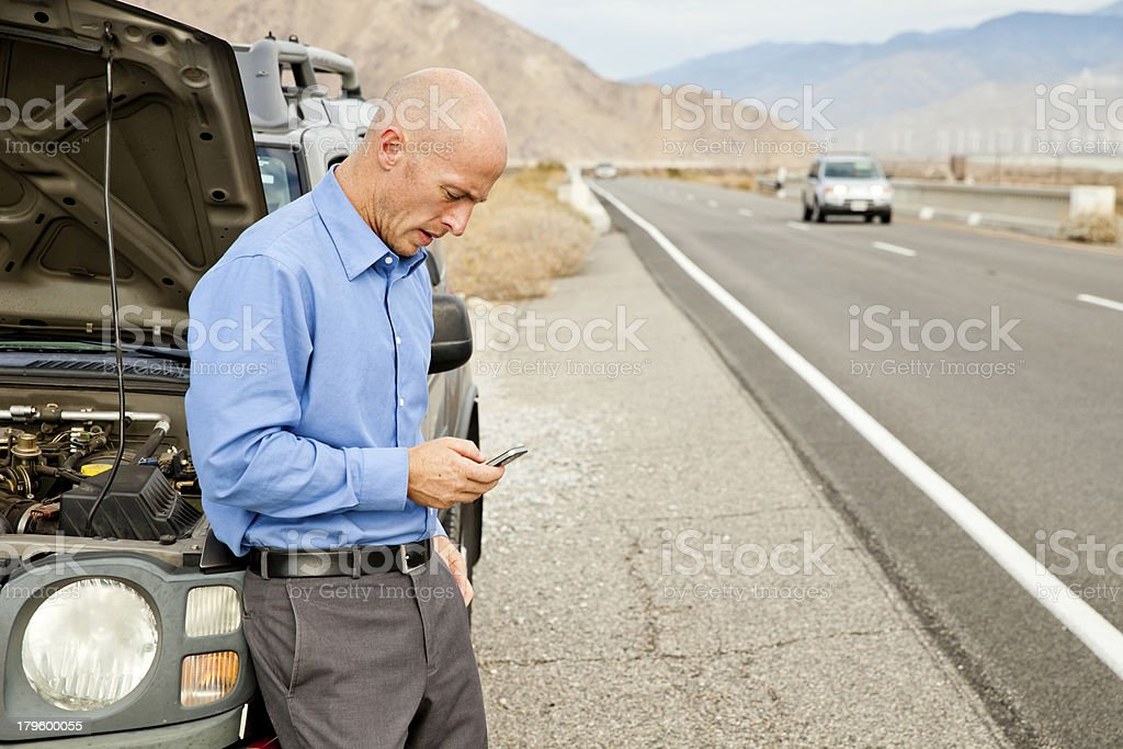 Car Troubles stock photo
