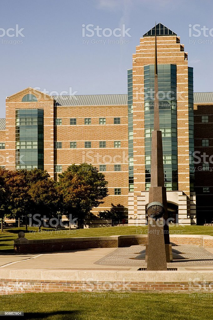Beckman Institute royalty-free stock photo