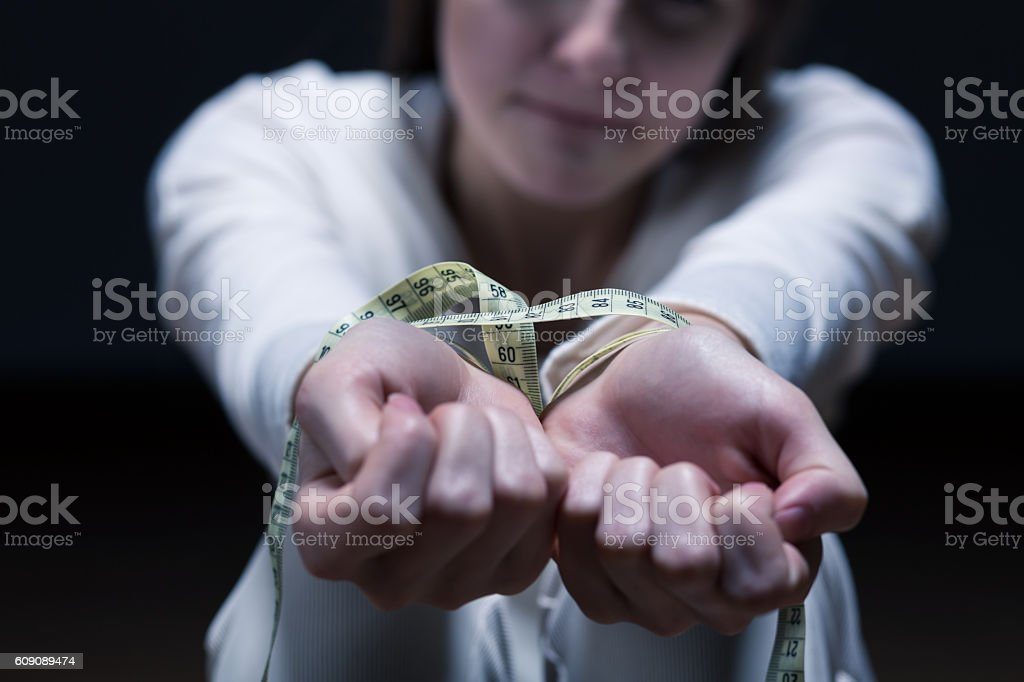 Become your own hostage stock photo