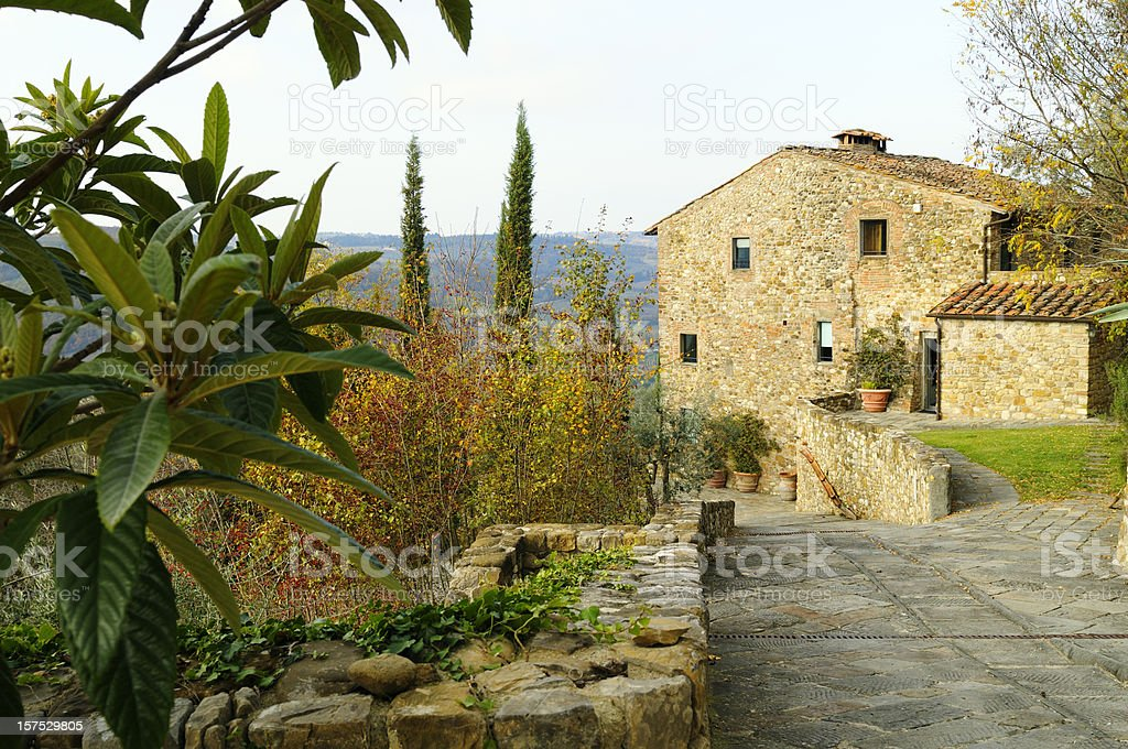 Bed and Breakfast in the Countryside stock photo