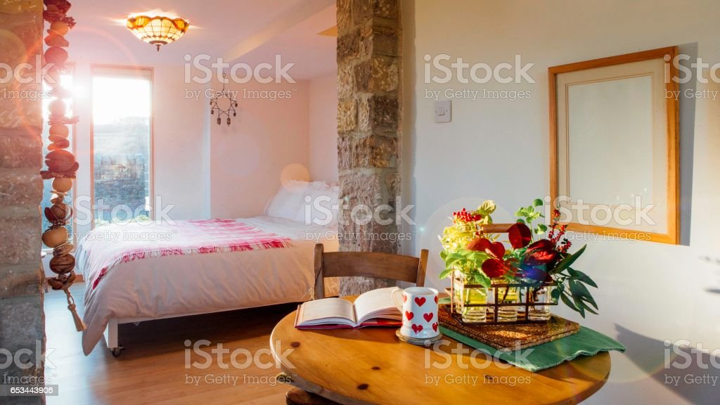 Bed and Breakfast Room - foto stock