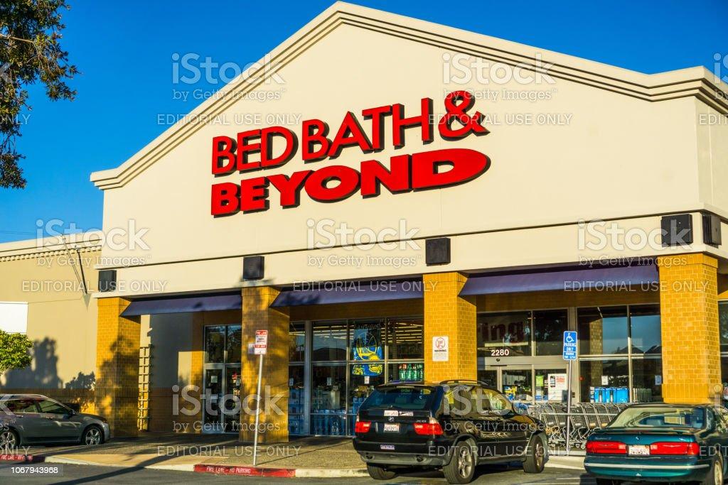 Bett Bad & darüber hinaus speichern Eingang – Foto