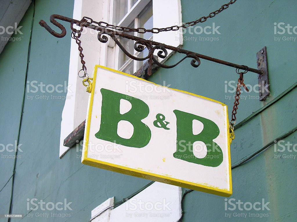 Bed & Breakfast here royalty-free stock photo