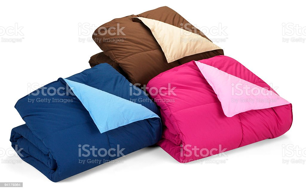 Bed Comforter royalty-free stock photo