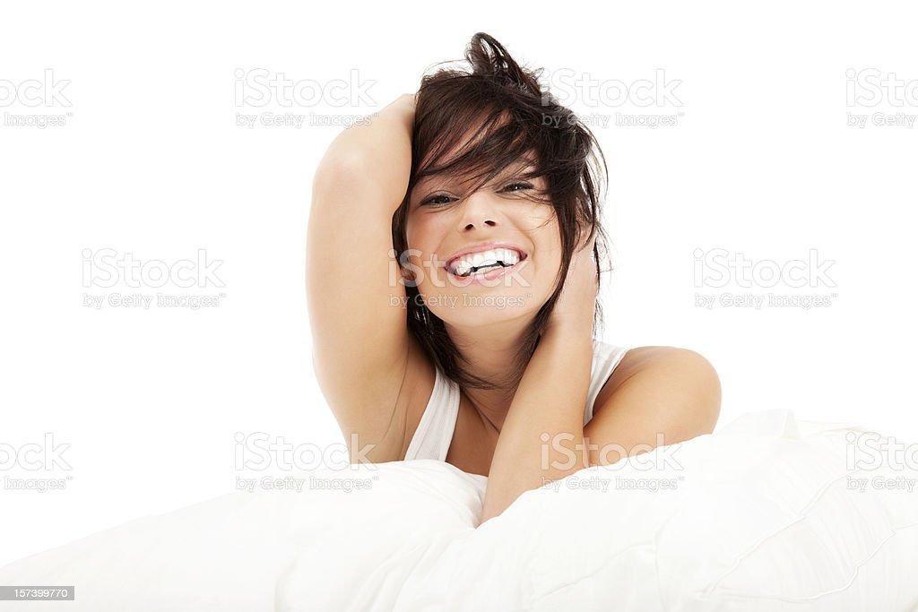 Bed Head royalty-free stock photo