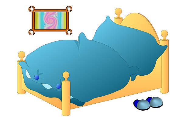 Bett in der blauen Zone – Foto