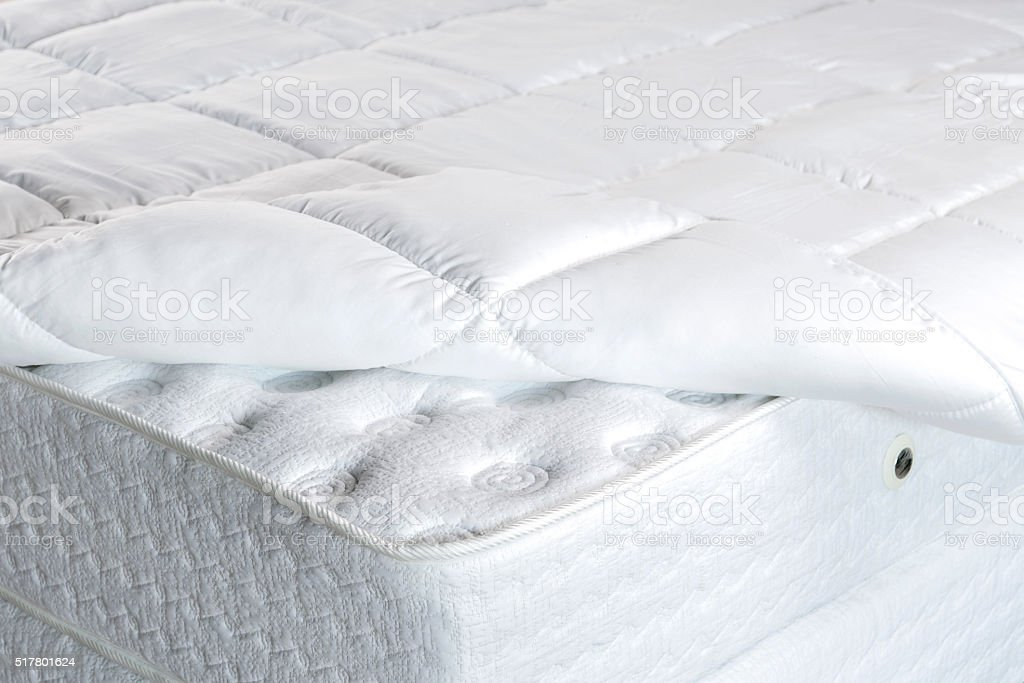 Bed Mattress stock photo