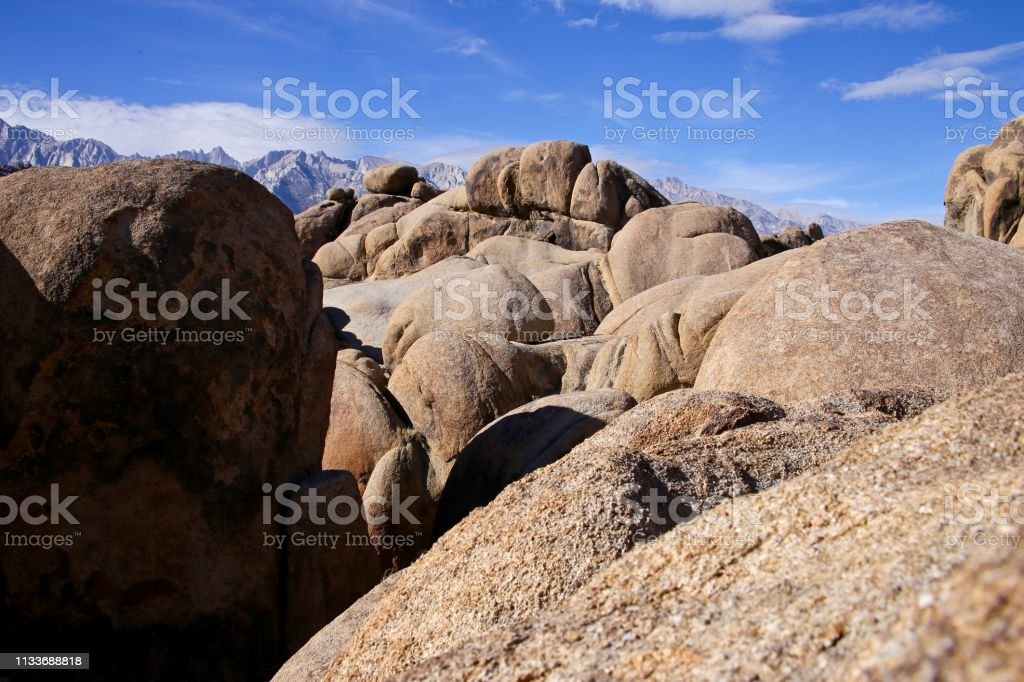 A Bed of Rocks stock photo