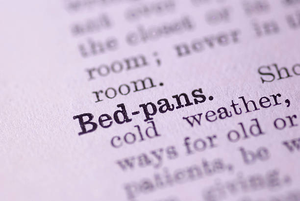 Bed Pans stock photo