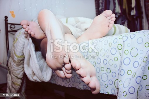 178279911 istock photo Bed time for both 525738403
