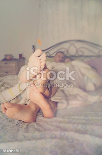 178279911 istock photo Bed time 531264459
