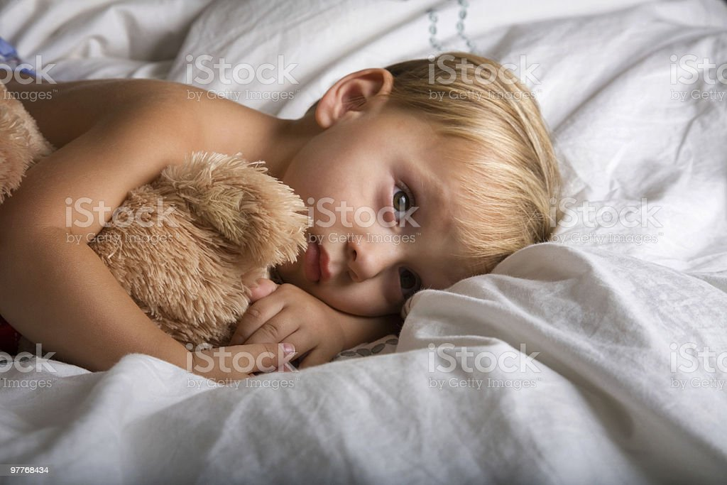 Bed Time royalty-free stock photo