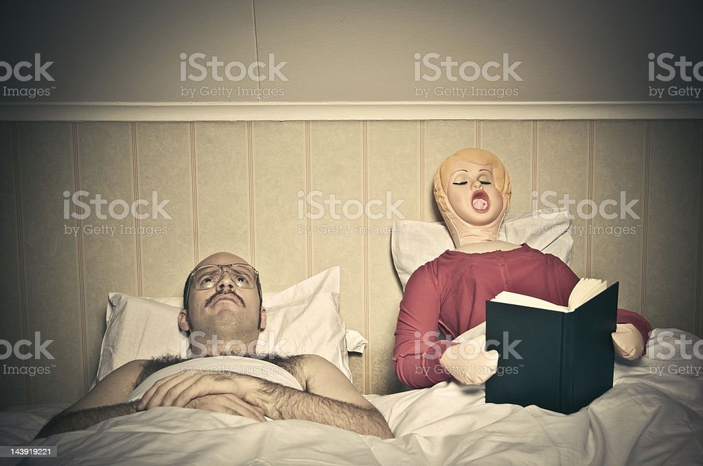 Bed Time Routines royalty-free stock photo