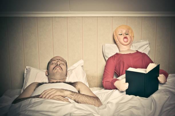 Tempo routine letto - foto stock