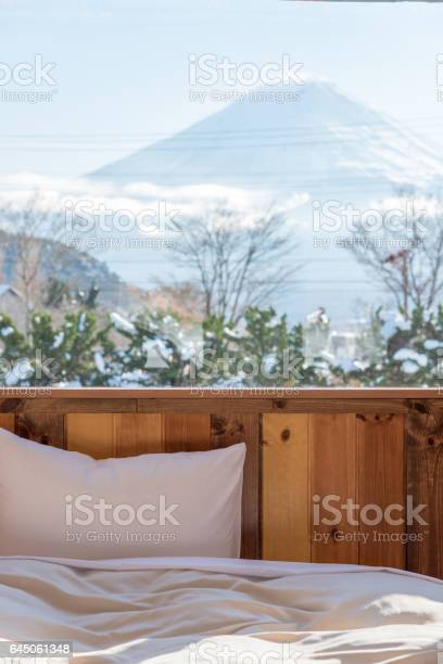Bed with mtfuji view as background outside the window picture id645061348?b=1&k=6&m=645061348&s=612x612&h=ln3f6svlz g5wf d apzgrjju3k86fkc8tlzobjlu7e=