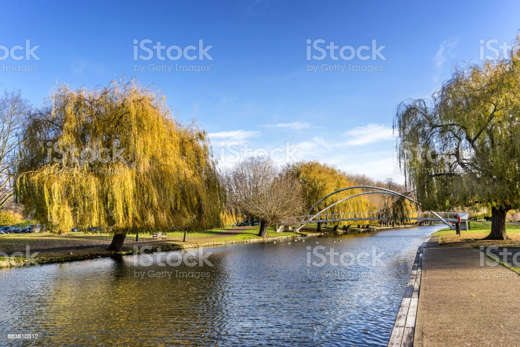 Bedford Embankment stock photo