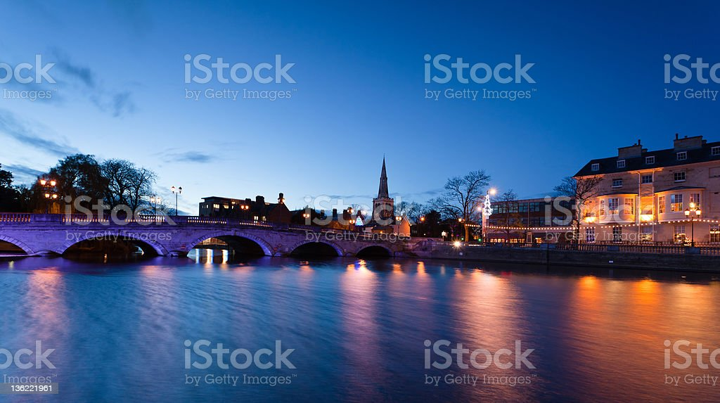 Bedford England stock photo