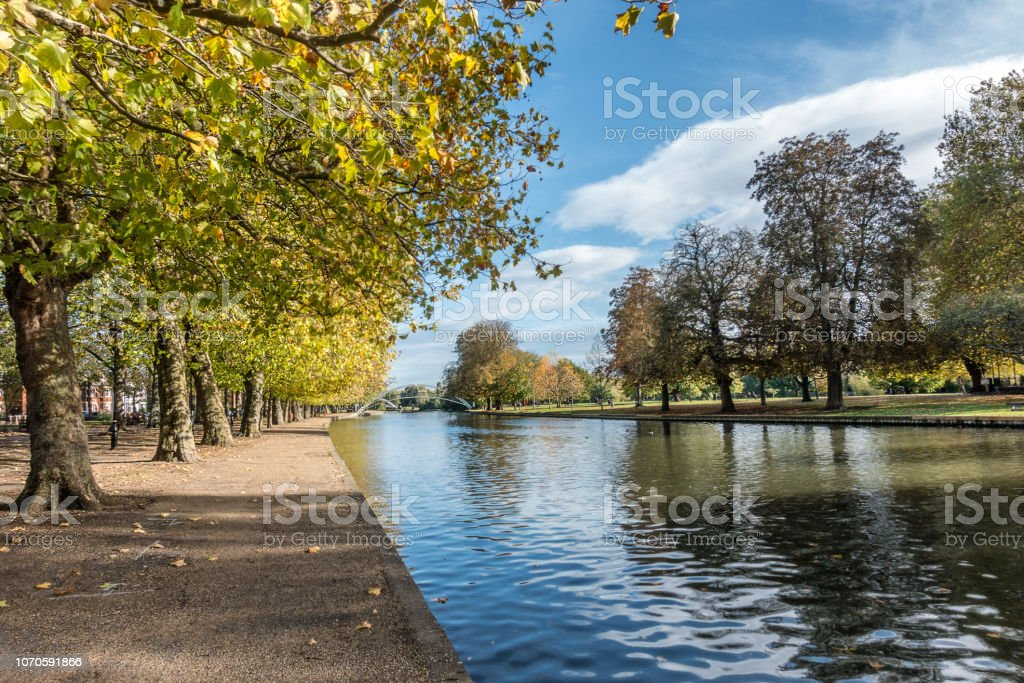 Bedford in Bedfordshire stock photo