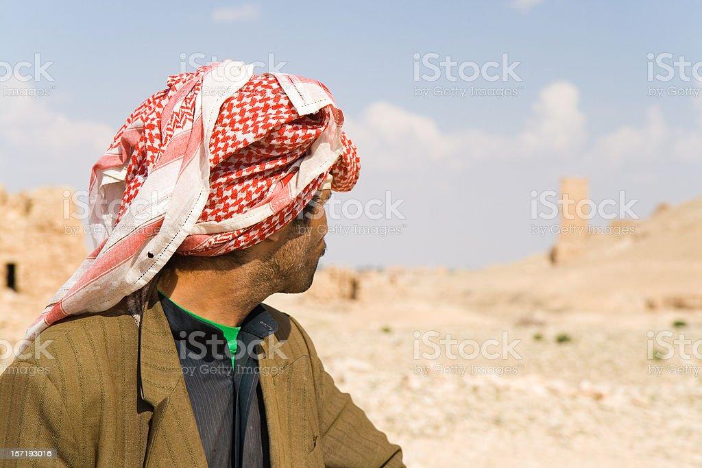 Bedouin royalty-free stock photo