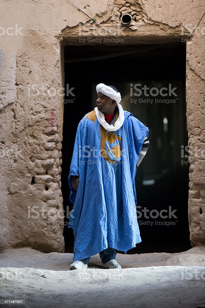 Bedouin royalty-free stock photo