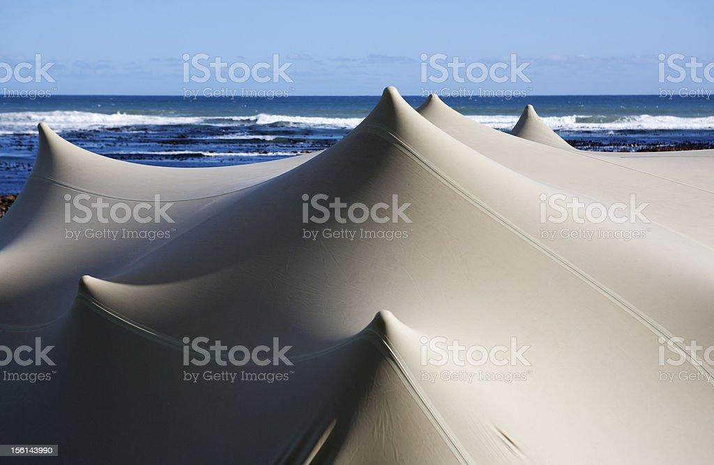 Bedouin Tent stock photo