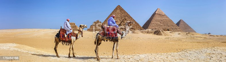 883177796istockphoto Bedouins and pyramids 175454166