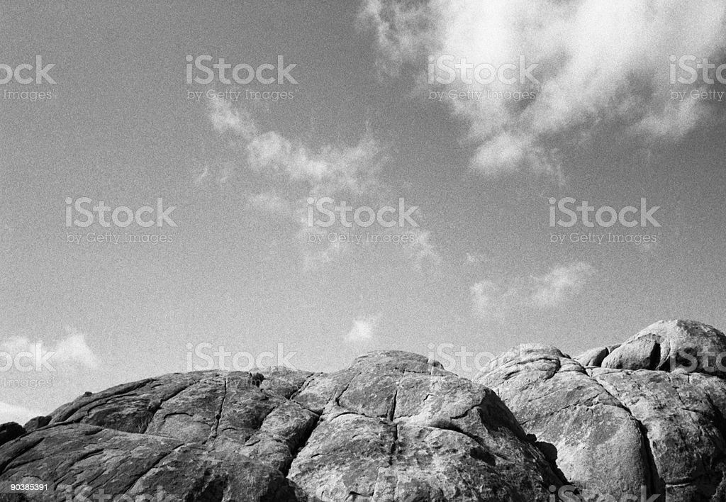 Bedrock stock photo