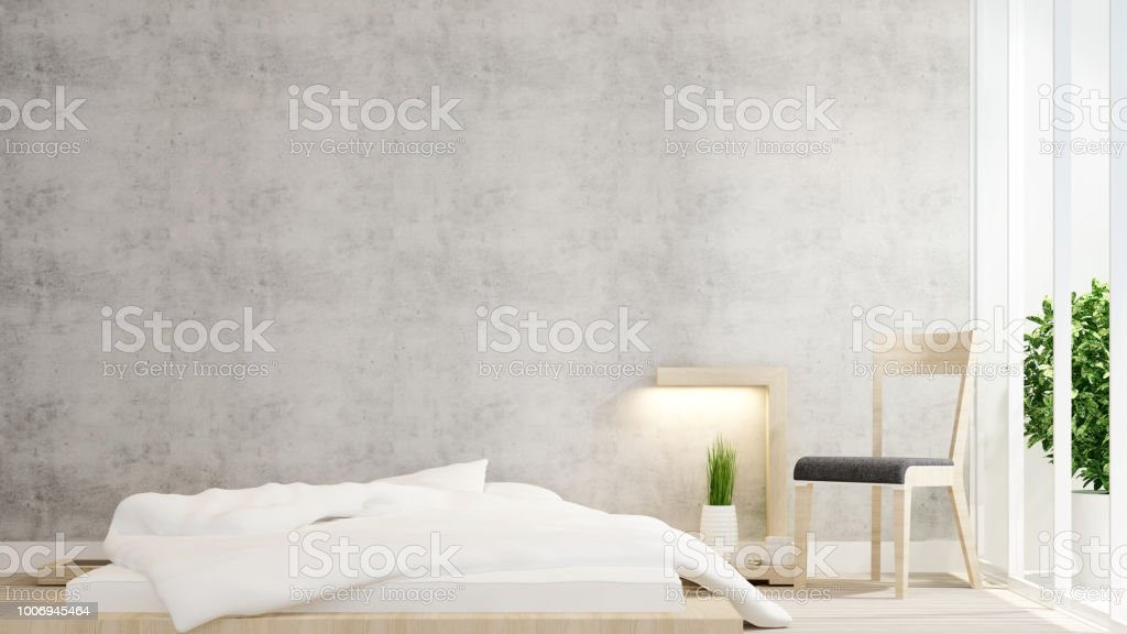 Dormitorio Y Sala De Diseño Minimalista Para Arte Dormitorio Y Sala ...