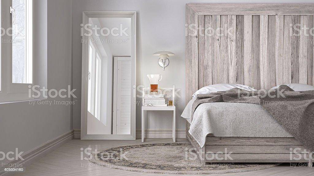Photo Libre De Droit De Diy Bedroom Bed With Wooden