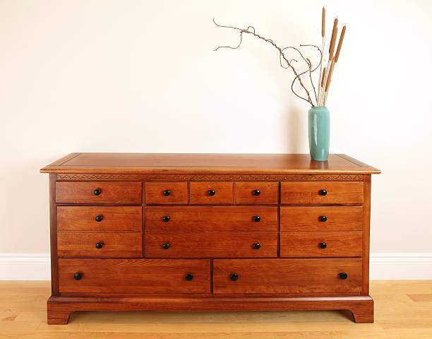 Bedroom Chest Drawer stock photo