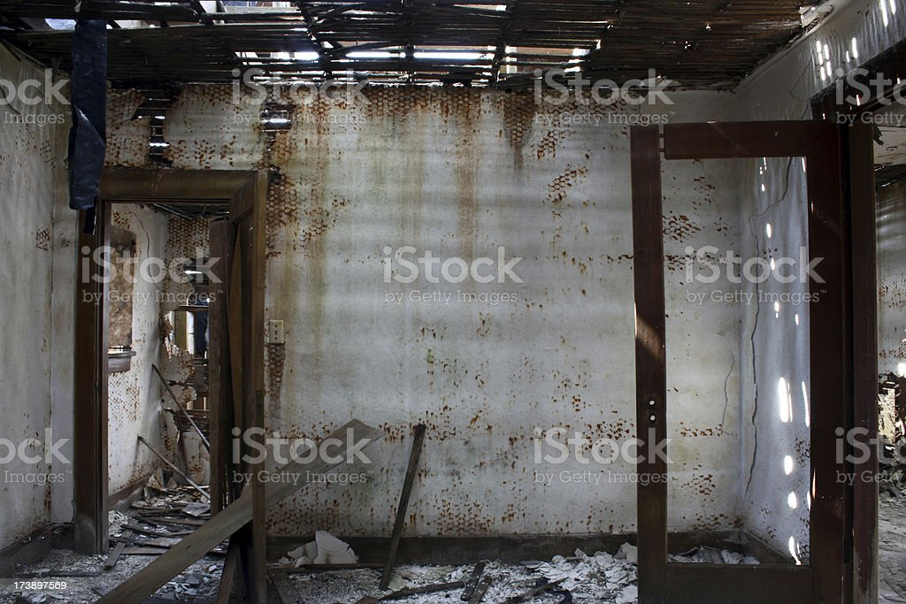 Bedroom disaster royalty-free stock photo