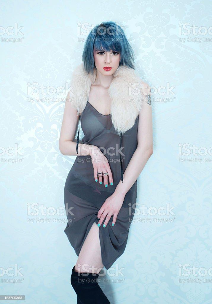 bedroom fashion stock photo