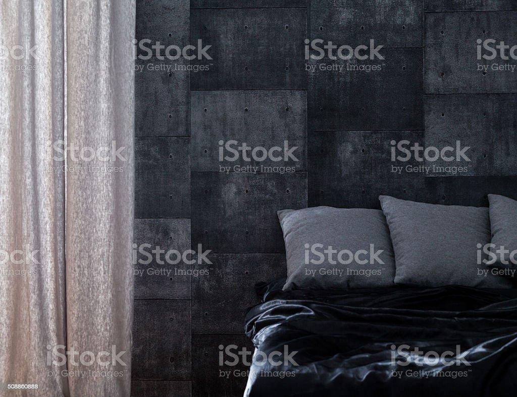 Schlafzimmer für Junggesellen – Foto