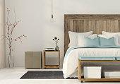 ミニマリスト スタイルのベッドルーム
