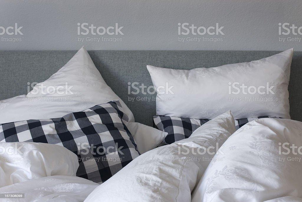 Schlafzimmer am Morgen – Foto
