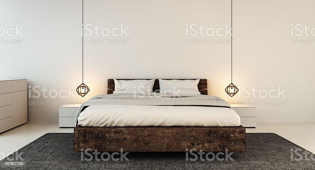 schlafzimmer einrichtung fur moderne zuhause und hotel schlafzimmer lizenzfreies stock foto