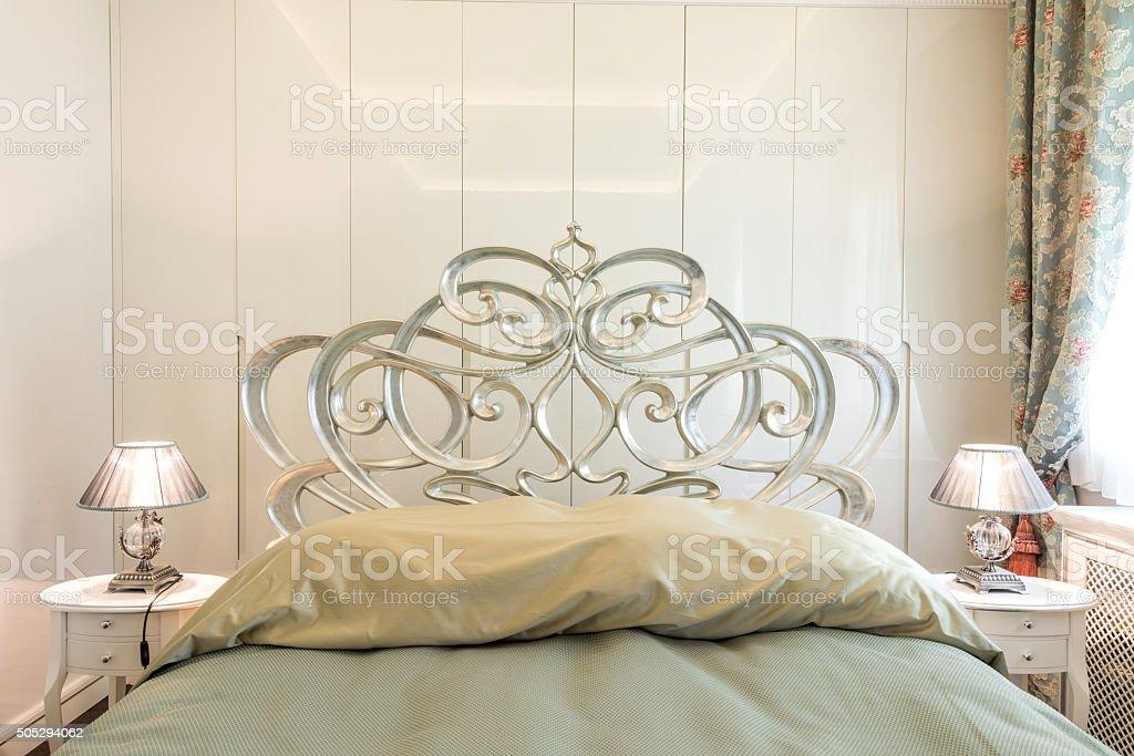 Bedroom interior stock photo
