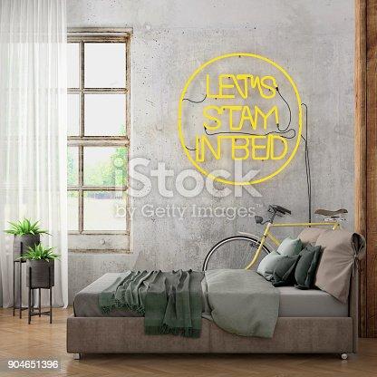 istock Bedroom interior 904651396