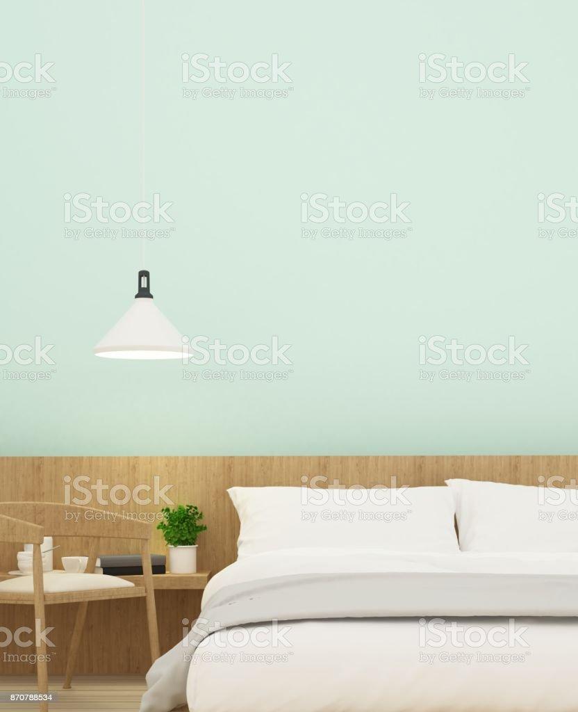 Rendu 3d Meubles Espace Interieur De Chambre A Coucher Et