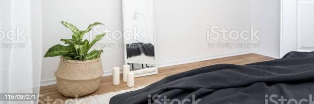 Bedroom interior with mirror picture id1157097271?b=1&k=6&m=1157097271&s=612x612&h=zalhrnlioot9vkvrwacfvn5hceflclcakuo1nqgwqkk=